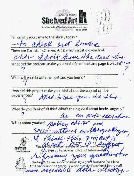 Shelved Art2 survey card3