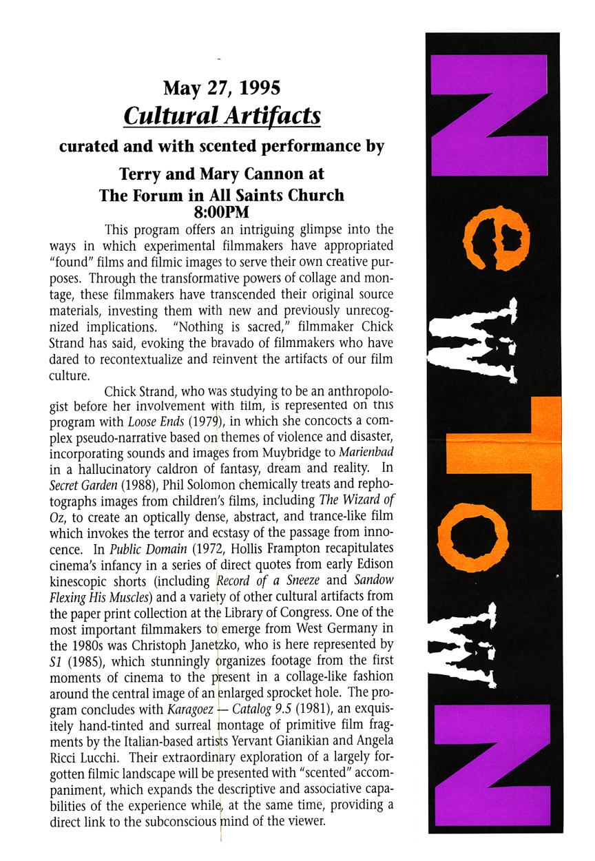 95_CulturalArtifacts_flyer